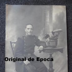 Militaria: (JX-999)FOTOGRAFIA DE SOLDADO DE INFANTERIA REG.Nº28 EPOCA ALFONSINA. Lote 38405367