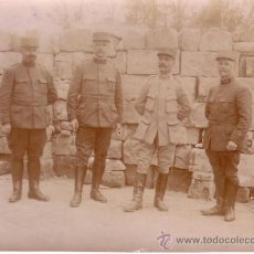 Militaria: ANTIGUA FOTOGRAFIA MILITAR 8X11 - FINALES DEL SIGLO XIX O PRINCIPIOS SIGLO XX. Lote 38612854