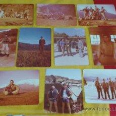 Militaria: LOTE 10 FOTOGRAFIAS MANIOBRAS VIVAC EN MONT-ROS EL 7 DE MARZO DE 1978. Lote 38661666