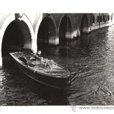 Militaria: FOTOGRAFIA ORIGINAL BARCO - BOMBEROS VENECIA - ASTILLEROS (3) AÑO 1956. Lote 38883990