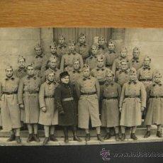 Militaria: FOTOGRAFIA FORMATO POSTAL - SOLDADOS FRANCESES REGIMIENTO 18. Lote 38887211