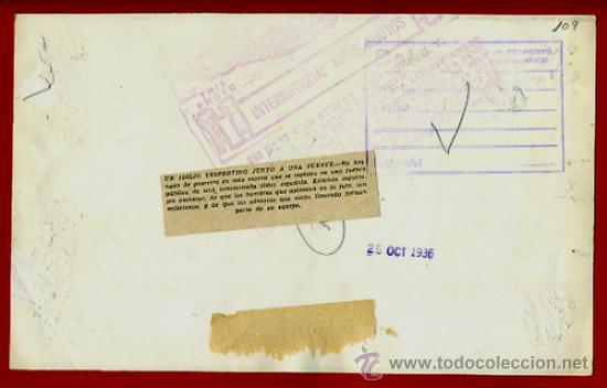 Militaria: FOTO, FOTOGRAFIA GUERRA CIVIL, 25-10-1936 , ORIGINAL ,F109 - Foto 2 - 39025074