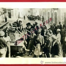 Militaria: FOTO, FOTOGRAFIA GUERRA CIVIL ? , SERVICIO PROPAGANDA CATALUÑA , ORIGINAL ,F613. Lote 39025131