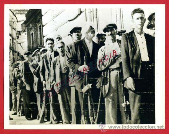 FOTO, FOTOGRAFIA GUERRA CIVIL ? , SERVICIO PROPAGANDA CATALUÑA , ORIGINAL ,F612 (Militar - Fotografía Militar - Guerra Civil Española)
