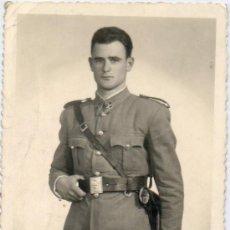 Militaria: FOTOGRAFIA ANTIGUA-1952-TAMAÑO POSTAL. Lote 39157942