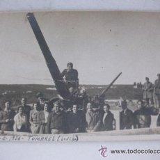 Militaria: GUERRA CIVIL : OFICIALES ARTILLERIA ANTIAEREA . TOMARES ( SEVILLA), 1936 . ALGUNOS CON CANDORAS.. Lote 39266947