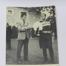 Militaria: ANTIGUA FOTOGRAFIA DE CABALLERO DE LA REAL Y LEAL ORDEN DE SAN CARLOS BORROMEO, MIDE 18 X 12 CMS.. Lote 39383827