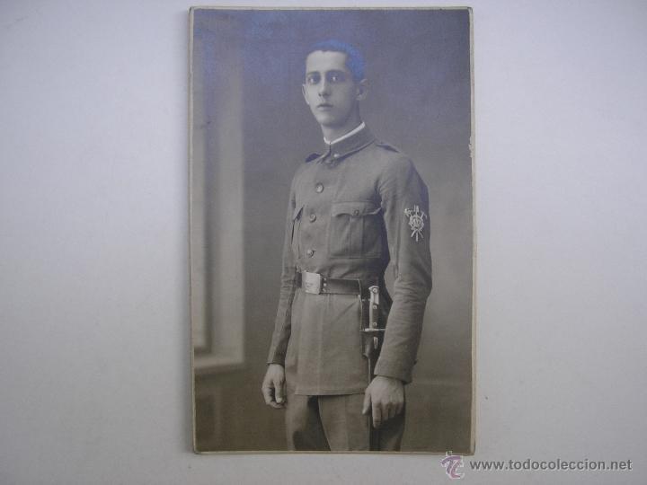 SOLDADO REGIMIENTO INFANTERÍA INMEMORIAL DEL REY Nº 1,MADRID 1930,FOTÓGRAFO VANDEL (Militar - Fotografía Militar - Otros)