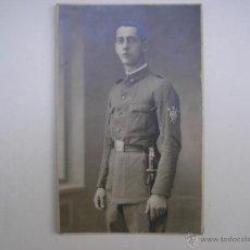 Militaria: SOLDADO REGIMIENTO INFANTERÍA INMEMORIAL DEL REY Nº 1,MADRID 1930,FOTÓGRAFO VANDEL. Lote 39505954