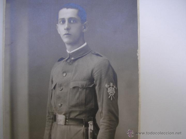 Militaria: SOLDADO REGIMIENTO INFANTERÍA INMEMORIAL DEL REY Nº 1,MADRID 1930,FOTÓGRAFO VANDEL - Foto 2 - 39505954