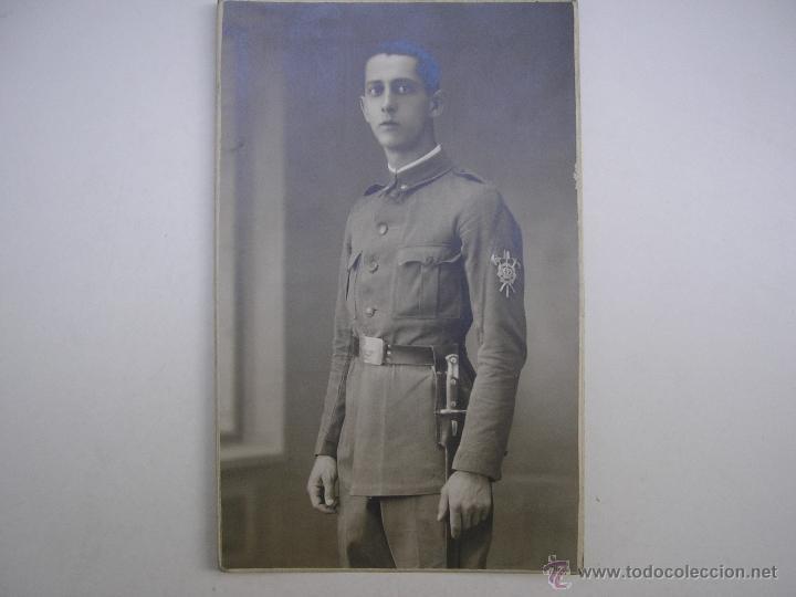 Militaria: SOLDADO REGIMIENTO INFANTERÍA INMEMORIAL DEL REY Nº 1,MADRID 1930,FOTÓGRAFO VANDEL - Foto 4 - 39505954