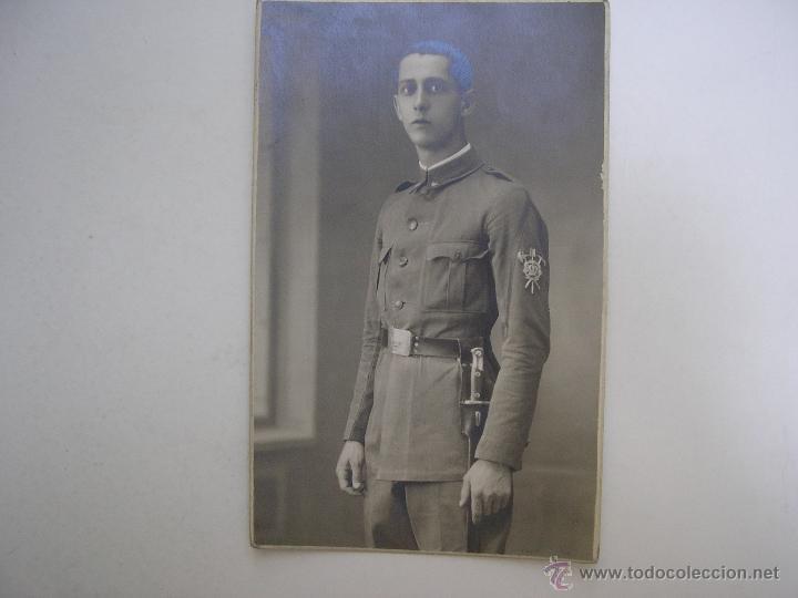 Militaria: SOLDADO REGIMIENTO INFANTERÍA INMEMORIAL DEL REY Nº 1,MADRID 1930,FOTÓGRAFO VANDEL - Foto 6 - 39505954