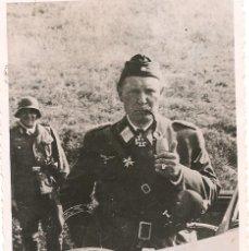 Militaria: HERMANN GÖRING EN EL FRENTE DEL ESTE-ORIGINAL - PAPEL AGFA LUPEX. Lote 39634209