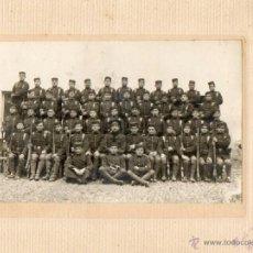 Militaria: FOTGRAFIA DE COMPAÑIA MILITAR DE BARCELONA. Lote 39637575