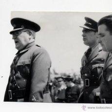 Militaria: DIAZ CASARIEGO. GENERAL MIAJA ARENGANDO A LOS SOLDADOS DE LA XI DIVISION. 1937 ORIGINAL GUERRA CIVI. Lote 39696227