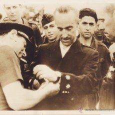 Militaria: PUIG FARRAN. OFRENDA DE UN RELOJ DE ORO AL CORONEL DIAZ SANDINO. 1936. ORIGINAL .GUERRA CIVIL. Lote 39696258