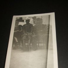 Militaria: ALGECIRAS CADIZ SOLDADO REGULAR Y SOLDADO LEGION CONDOR GUERRA CIVIL FOTOGRAFIA. Lote 39899937