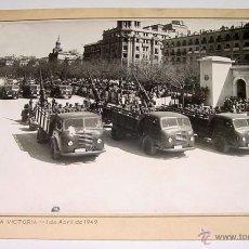 Militaria - ANTIGUA FOTOGRAFIA ORIGINAL DEL DESFILE DE LA VICTORIA - 1 DE ABRIL DE 1949 - MIDE 26,5 X 20,5 CMS. - 38240490