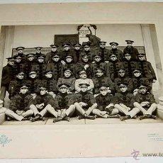 Militaria: ANTIGUA FOTOGRAFIA DE MILITARES ALUMNOS Y PROFESORES EN LA ACADEMIA MILITAR DE TOLEDO . REALIZADA PO. Lote 38257147