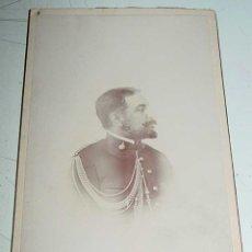 Militaria: ANTIGUA FOTOGRAFIA DE OFICIAL DE ARTILLERIA, EPOCA DE ALFONSO XIII - MIDE 16,5 X 10,5 CMS.. Lote 38262882