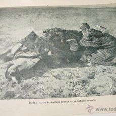 Militaria: AUGUSTO RIERA. CRONICA DE LA GUERRA DE MARRUECOS. GENERAL CAVALACANTI. DESASTRE DE ANNUAL - 1921 - S. Lote 38267822