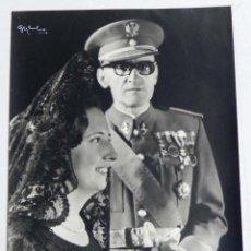 Militaria: ANTIGUA FOTOGRAFIA DE OFICIAL, COMANDANTE DEL EJERCITO ESPAÑOL CONDECORADO, FOTO GYENES, MADRID. MID. Lote 38274502