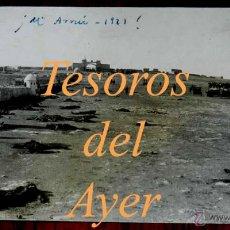 Militaria: ANTIGUA FOTO POSTAL DEL MONTE ARRUIT - CAMPAÑA DEL RIF 1921- CADAVERES ESPAÑOLES, GUERRA DE MARRUECO. Lote 38286289