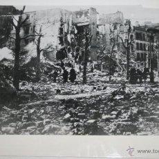 Militaria: BOMBARDEO EN PARIS - RADIOFOTO DE LA II GUERRA MUNDIAL. Lote 40520068