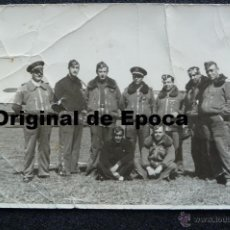 Militaria: (JX-1210)FOTOGRAFIA DE PILOTOS DE AVIACION,GUERRA CIVIL,REPUBLICANOS???. Lote 40536887