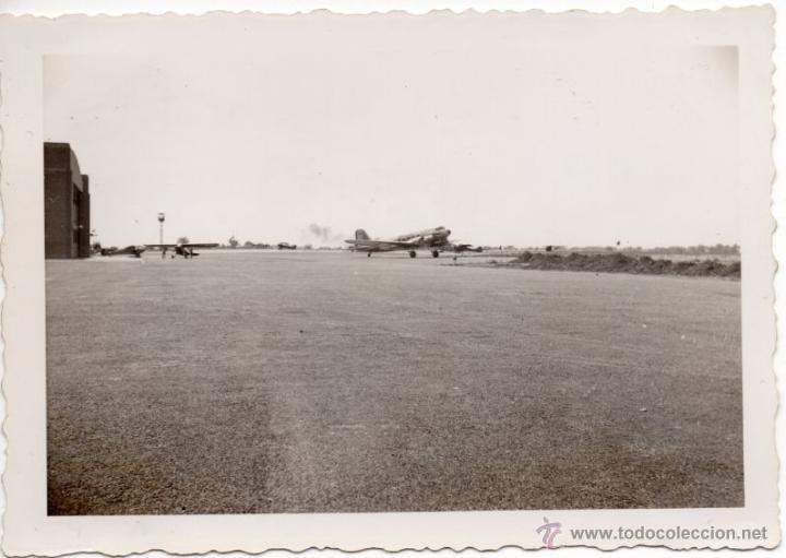 AVIONES EN EL AEROPUERTO DE ROCHESTER - VERANO DE 1941 - FOTOGRAFIA II GUERRA MUNDIAL (Militar - Fotografía Militar - II Guerra Mundial)