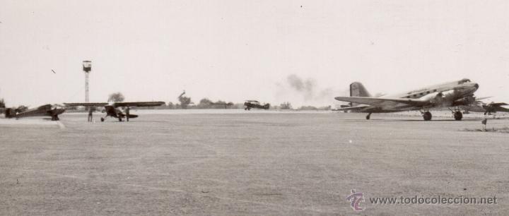 Militaria: AVIONES EN EL AEROPUERTO DE ROCHESTER - VERANO DE 1941 - FOTOGRAFIA II GUERRA MUNDIAL - Foto 2 - 40715552