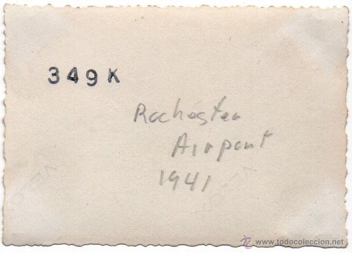 Militaria: AVIONES EN EL AEROPUERTO DE ROCHESTER - VERANO DE 1941 - FOTOGRAFIA II GUERRA MUNDIAL - Foto 3 - 40715552