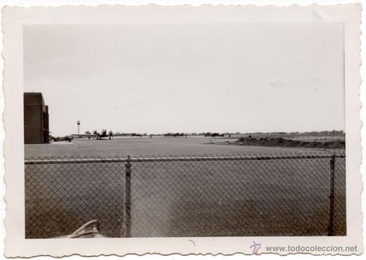 AVIONES EN EL AEROPUERTO DE ROCHESTER 2ª - VERANO DE 1941 - FOTOGRAFIA II GUERRA MUNDIAL (Militar - Fotografía Militar - II Guerra Mundial)