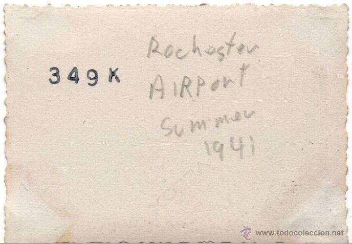 Militaria: AVIONES EN EL AEROPUERTO DE ROCHESTER 2ª - VERANO DE 1941 - FOTOGRAFIA II GUERRA MUNDIAL - Foto 3 - 40715668