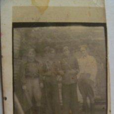 Militaria: GUERRA CIVIL : FOTO DE SARGENTO Y SOLDADOS . MINUTERO. Lote 40726927