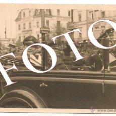 Militaria: FOTO POSTAL DE HERMANN GÖERING EN COCHE.¡¡¡ORIGINAL!!!. Lote 40859069