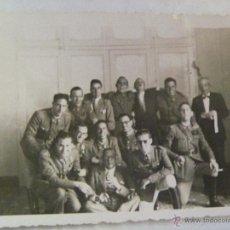 Militaria: GUERRA CIVIL : FOTO DE MILITARES ESTAMPILLADOS . MELILLA .. Lote 40896976