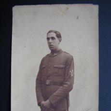 Militaria: FOTOGRAFIA GUERRA CIVIL ESPAÑOLA 18X11 CM. Lote 40923944