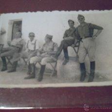 Militaria: GRUPO DE JEFES Y OFICIALES DEL TERCIO ALEJANDRO FARNESIO- IV DE LA LEGIÓN - LE TIFASNT (MARRUECOS). Lote 40948266