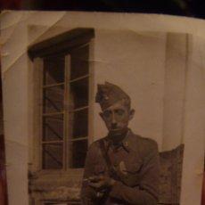 Militaria: GUERRA CIVIL : FOTO DE SOLDADO DE ARTILLERIA , 1936 .. Lote 40959804