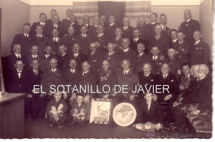 POSTAL FOTOGRAFICA MILITAR - GRUPO DE CONDECORADOS PRIMERA GUERRA MUNDIAL (Militar - Fotografía Militar - I Guerra Mundial)