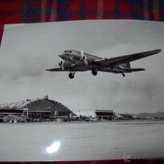 Militaria: EXTRAORDINARIA FOTOGRAFÍA DE UN DOUGLAS DC-3.1948.. Lote 41085431