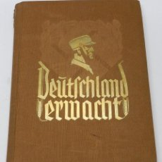 Militaria: ALBUM DE FOTOS - 1933. ALEMANIA DESPIERTA, DEUTSCHLAND ERWACHT, ALBUM PROPGANDÍSTICO EDITADO EN HOME. Lote 41158981