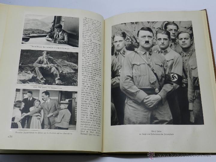 Militaria: ALBUM DE FOTOS - 1933. ALEMANIA DESPIERTA, Deutschland erwacht, Album propgandístico editado en home - Foto 2 - 41158981