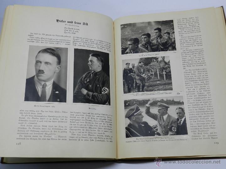 Militaria: ALBUM DE FOTOS - 1933. ALEMANIA DESPIERTA, Deutschland erwacht, Album propgandístico editado en home - Foto 3 - 41158981