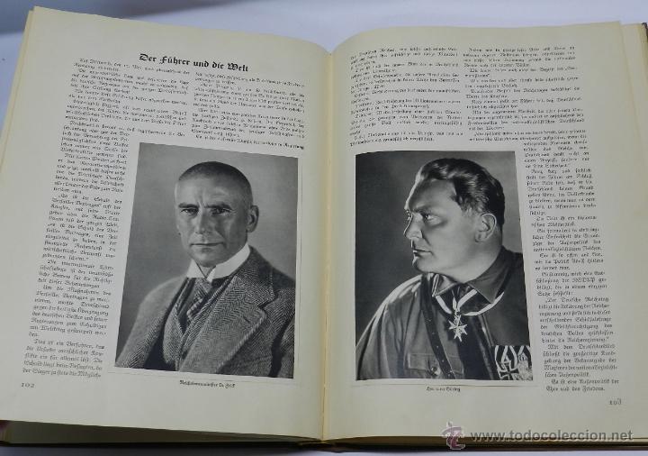 Militaria: ALBUM DE FOTOS - 1933. ALEMANIA DESPIERTA, Deutschland erwacht, Album propgandístico editado en home - Foto 5 - 41158981
