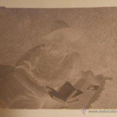 Militaria - AVILA AERODROMO SOLDADO LEGION CONDOR LEYENDO NEGATIVO ORIGINAL GUERRA CIVIL - 41269639