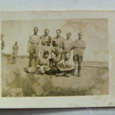 Militaria: GUERRA CIVIL : FOTO DE MILITARES Y MILICIANOS NACIONALES . BELMEZ (?) , 1938. Lote 41273691