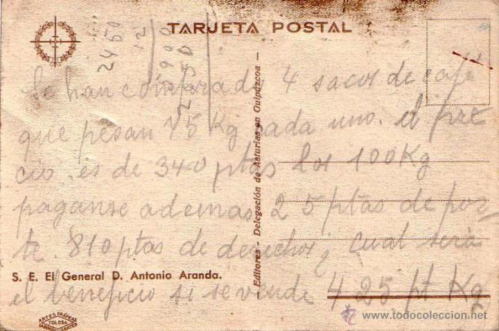 Militaria: TARJETA POSTAL .GENERAL ANTONIO ARANDA GENERAL REPUBLICANO -VER FOTOS - Foto 2 - 41331691