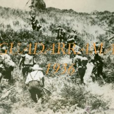 Militaria: GUADARRAMA - 1936 . Lote 41457136
